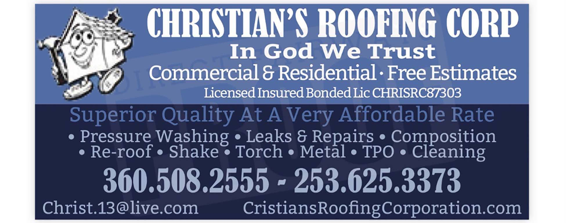 Christian's Roofing Corp